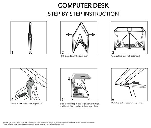 Origami Rde 01 Computer Desk Review Well Furnished Home
